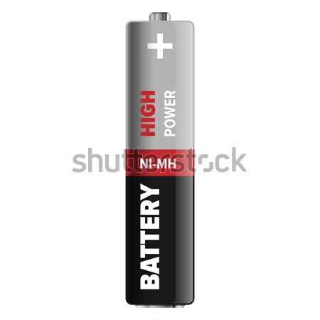 Puissant compact batterie illustration super type Photo stock © robuart