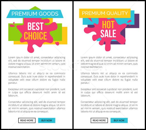 Caliente venta prima calidad Internet Foto stock © robuart