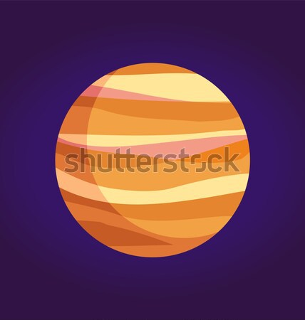 гигант планеты Солнечная система большой солнце изолированный Сток-фото © robuart