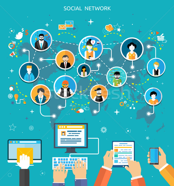 social network service and internet
