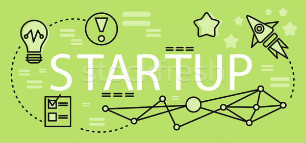 Start up Business Concept Stock photo © robuart