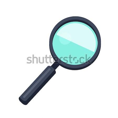 Magnifying Glass Icon Stock photo © robuart
