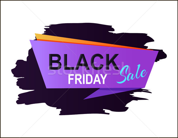 Stockfoto: Black · friday · verkoop · schaduw · paars · meetkundig
