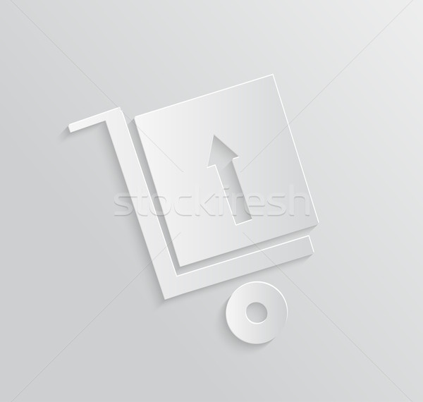 Delivery service 24 hours . Cargo truck symbol Stock photo © robuart
