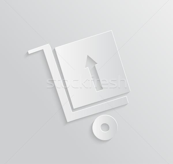 配信 サービス 24 貨物 トラック シンボル ストックフォト © robuart