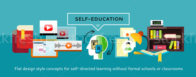 Self-education Concept Stock photo © robuart