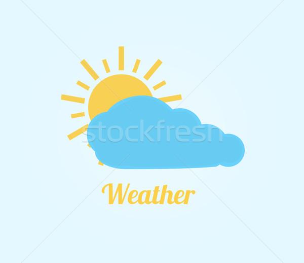 Weather icon Stock photo © robuart