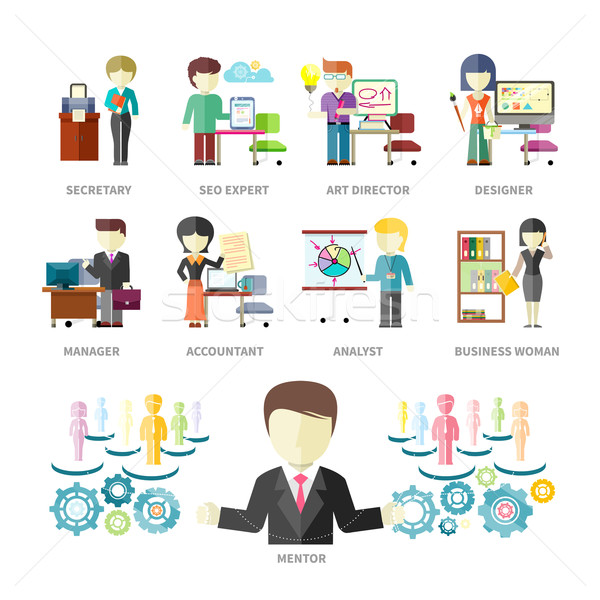 Business Peoples Professions Stock photo © robuart