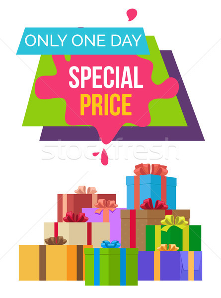 Special Price only 1 Day Exclusive Product Quality Stock photo © robuart