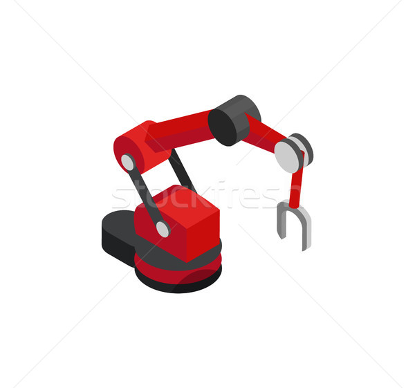 Productional Robot Machine with Magnet on the End Stock photo © robuart