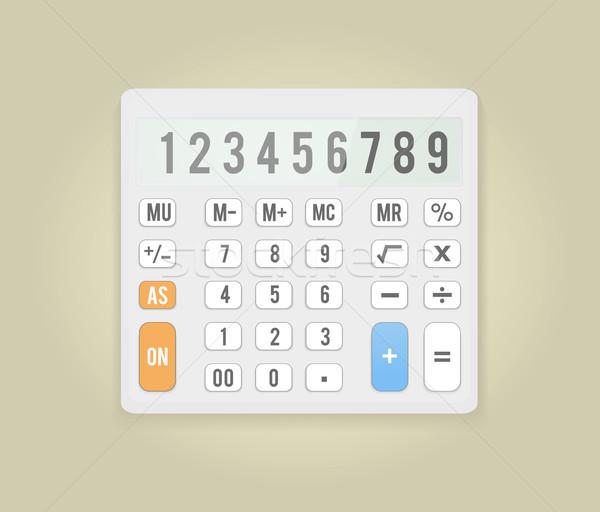 電卓 アイコン ビジネス 数学 シンボル オフィス ストックフォト © robuart