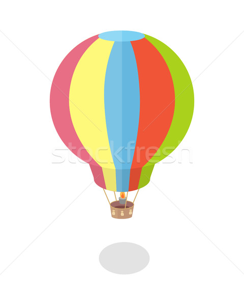 Hot Air Balloon Icon Stock photo © robuart