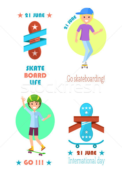 Go Skateboarding International Day Event 21 June Stock photo © robuart