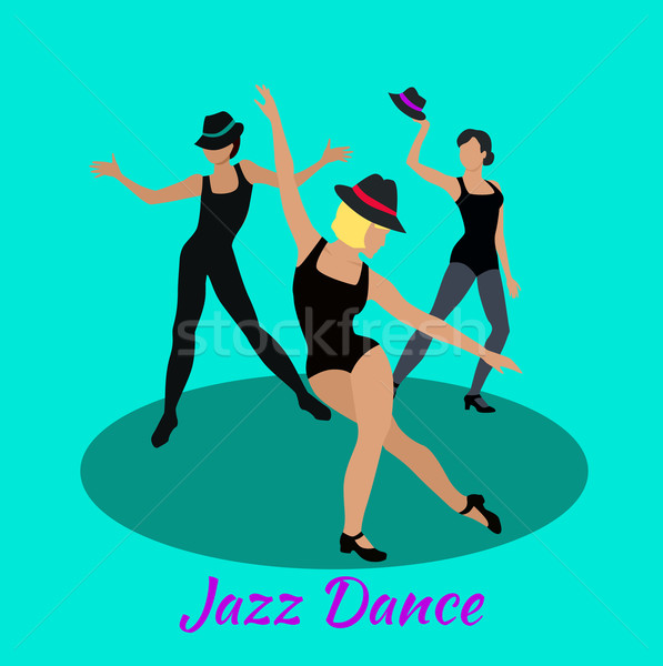 Jazz danse design modernes classe musique Photo stock © robuart