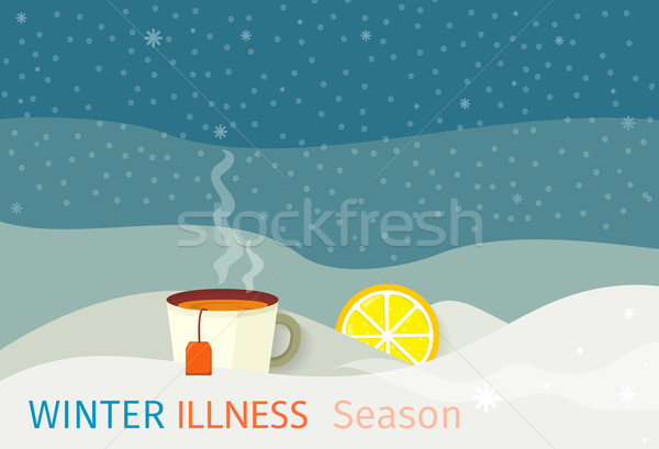 Winter Illness Season People Design Stock photo © robuart