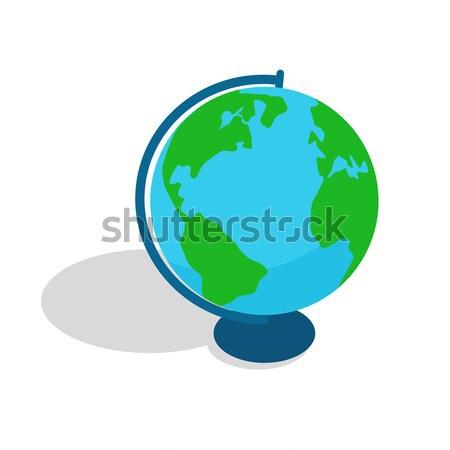 Geografico mondo sferico oggetto scala modello Foto d'archivio © robuart