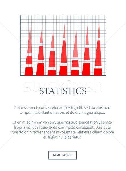 статистика веб страница текста образец заголовок Сток-фото © robuart