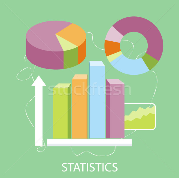 Stockfoto: Charts · grafieken · statistisch · business · analytics · ontwerp