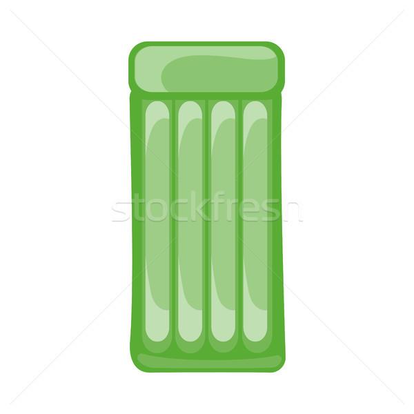 スイミング マットレス ベクトル スタイル デザイン 緑 ストックフォト © robuart