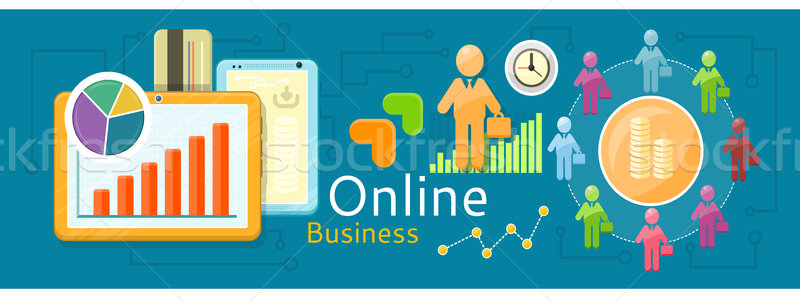 Concept of online business Stock photo © robuart