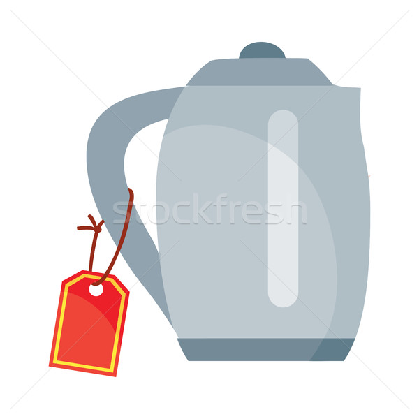 Teapot or Electric Kettle Appliances Isolated Stock photo © robuart