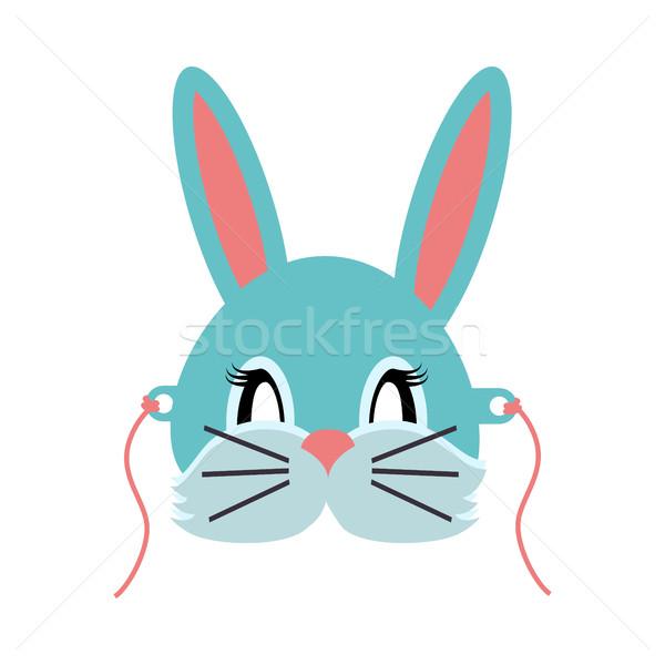 кролик животного карнавальных серый небольшой Bunny Сток-фото © robuart