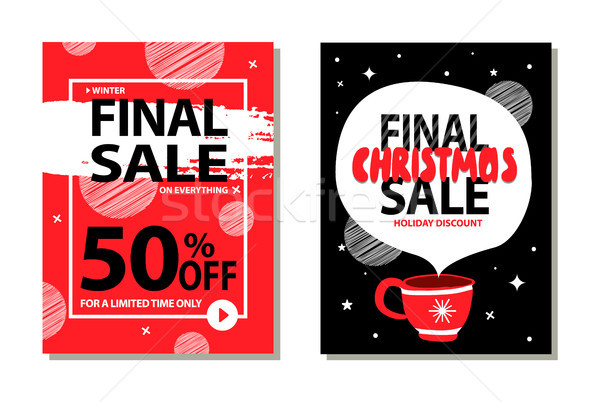 Sale on Limited Time Only Vector Illustration Stock photo © robuart