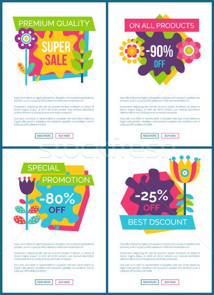 Stock fotó: Prémium · minőség · legjobb · ajánlat · online · promo