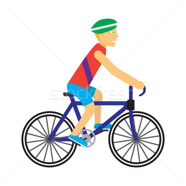 Bicicleta vetor projeto verão diversão Foto stock © robuart