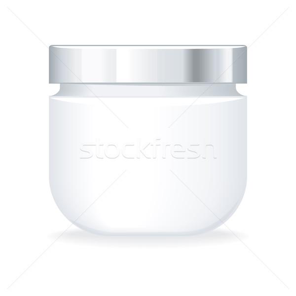 Krem jel şişe boş kozmetik ürün Stok fotoğraf © robuart