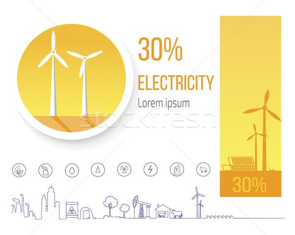 Dévoué mettre énergie développement environnement production Photo stock © robuart