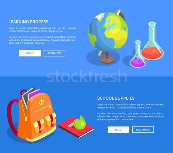 Educational Process Collection Scientific Objects Stock photo © robuart