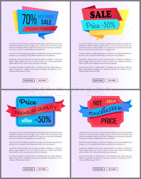 Vásár akció rendelés vegye meg most háló poszter Stock fotó © robuart