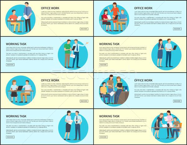 事務 作業 タスク コレクション ウェブ ストックフォト © robuart