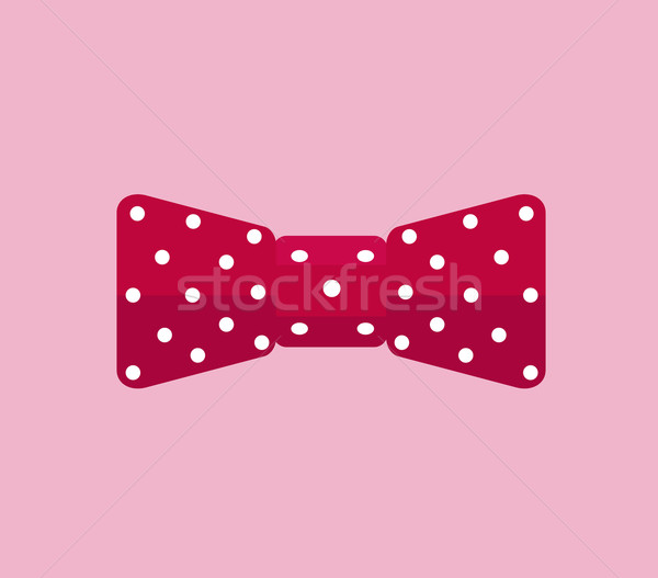 Business Accessory Bow Tie Design Flat Stock photo © robuart