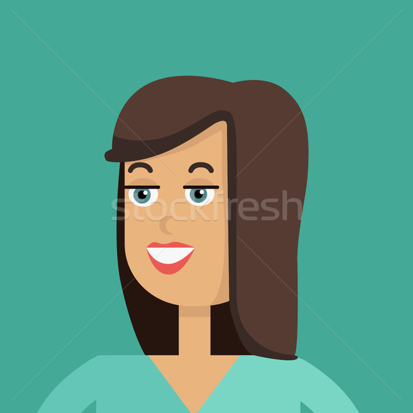 Young Woman Avatar Stock photo © robuart