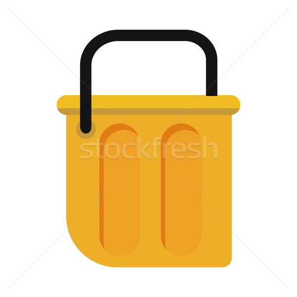 Bucket Vector Illustration in Flat Style Design   Stock photo © robuart