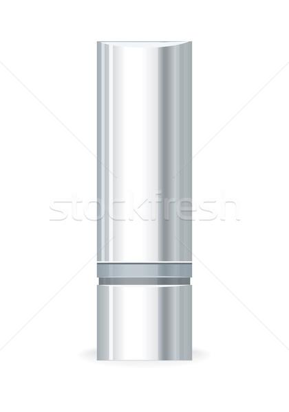 Strony krem żel butelki pusty kosmetycznych Zdjęcia stock © robuart