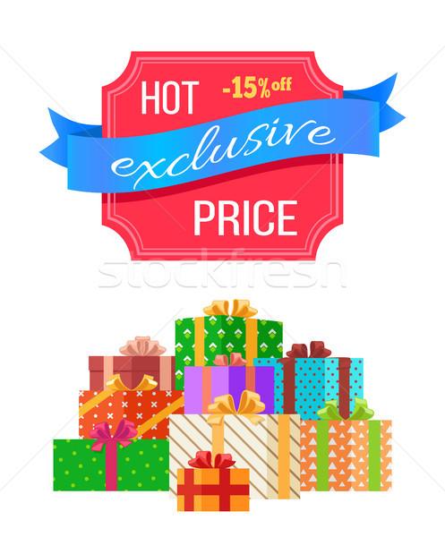 Caldo prezzo esclusivo vendita carta colorato Foto d'archivio © robuart