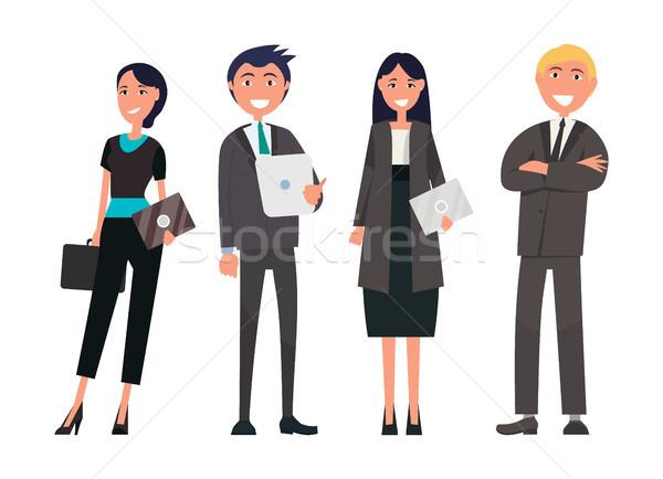 人 商務會議 向量 成功 團隊 昂貴 商業照片 © robuart