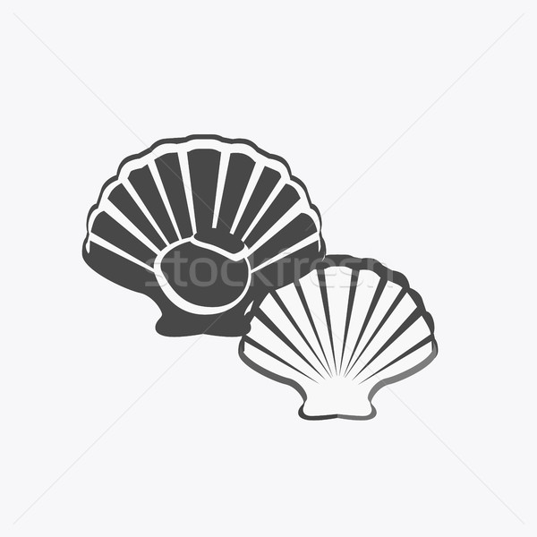 Oysters Vector Illustration Stock photo © robuart