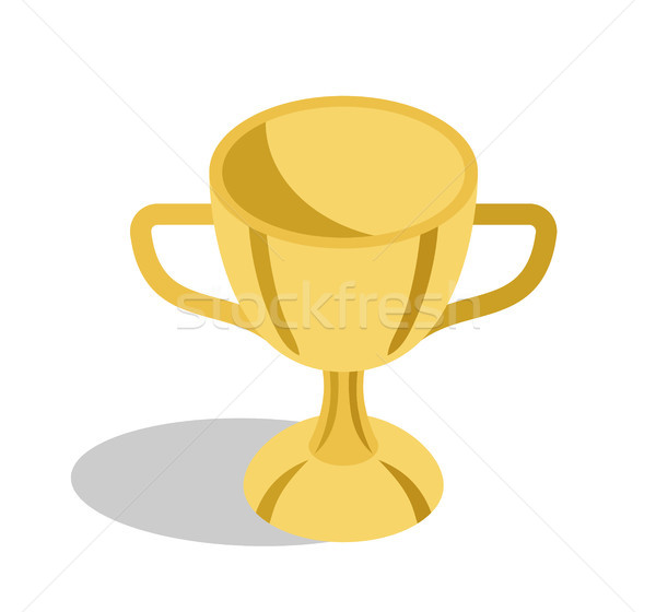 Gold Trophy Cup for Great Educational Achievements Stock photo © robuart
