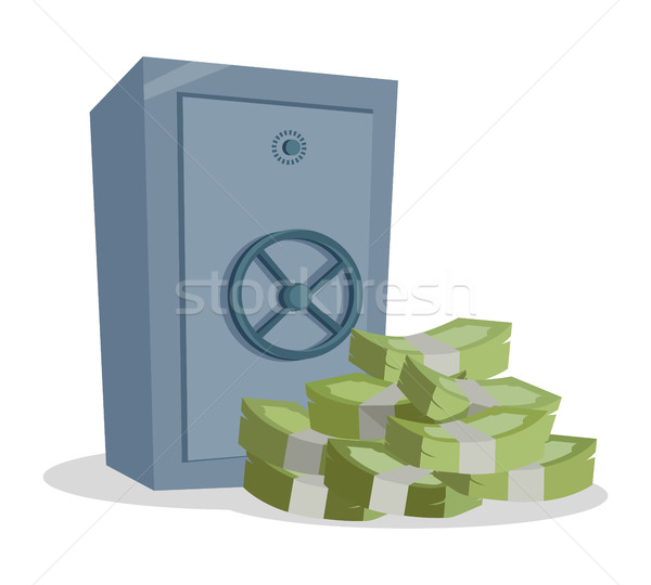 Accumulation and Saving Money concept Vector. Stock photo © robuart
