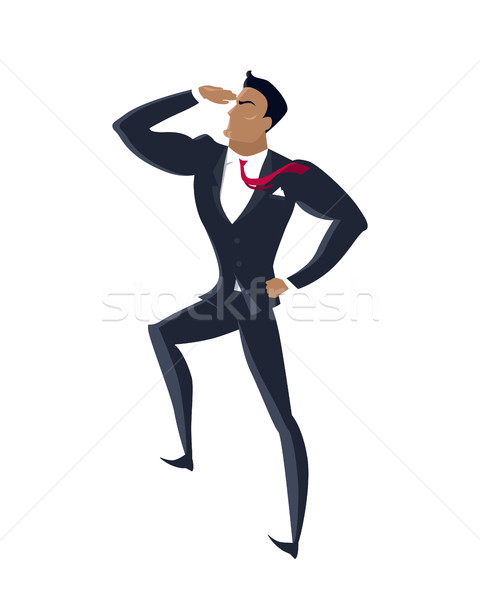 Businessman Searching for Promising Opportunities Stock photo © robuart