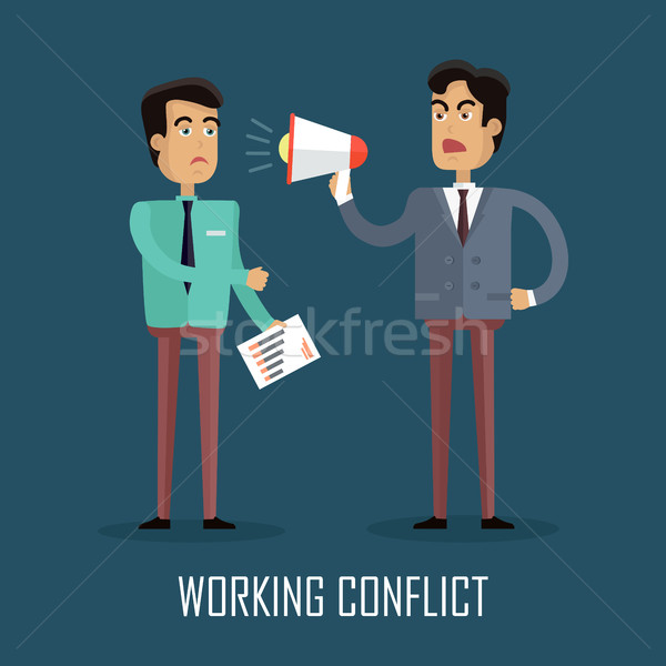 Working Conflict Concept Stock photo © robuart