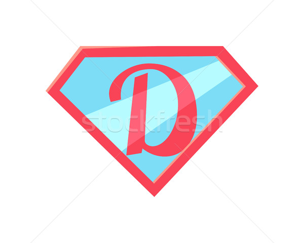 Happy Fathers Day Logo. Letter D Symbolize Daddy. Stock photo © robuart