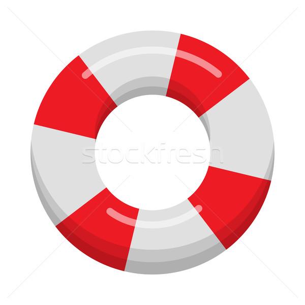 Lifebuoy Isolated on White Background Stock photo © robuart