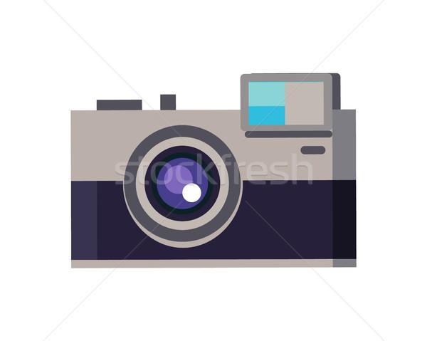 Kamera fotoğrafçılık objektif sıçrama yakınlaştırma Stok fotoğraf © robuart