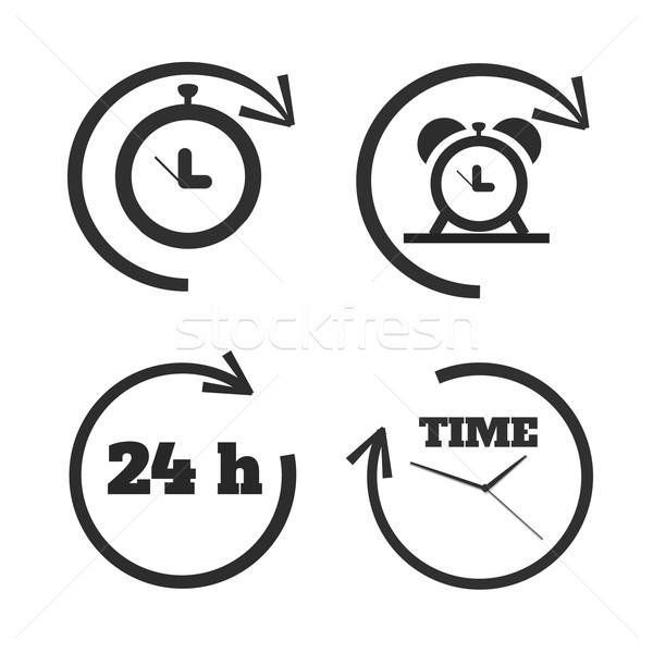 часы время лице часы Смотреть Сток-фото © robuart