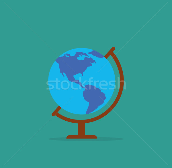 Earth Globe Icon Stock photo © robuart